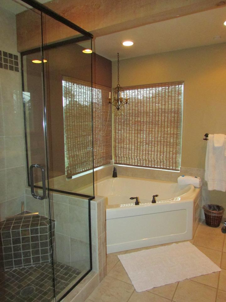 Master Bathroom Beach House gallery - bandon escape beach house