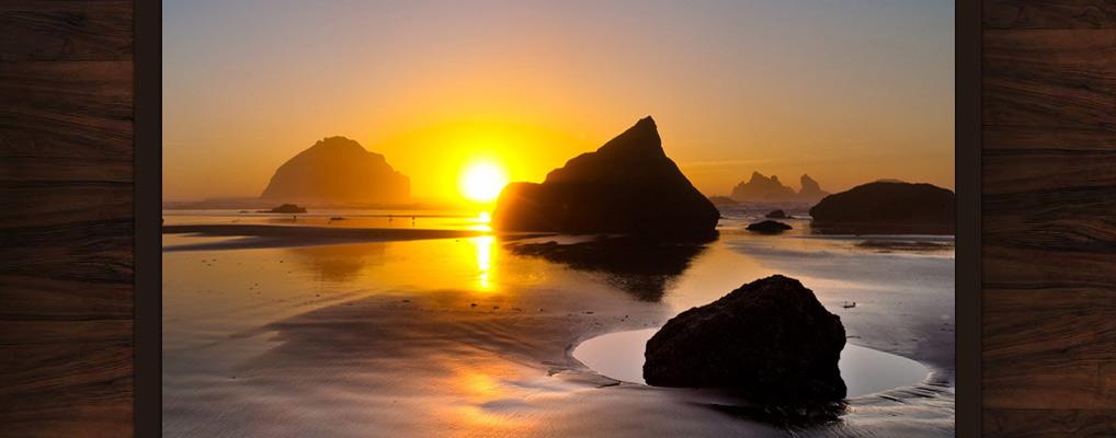 Bandon-Escape-Beach-House-Rental-Face-Rock-Sunset