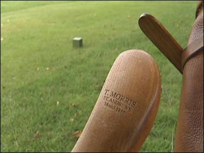 Old Bandon Golf Links, Oregon. Hickory clubs
